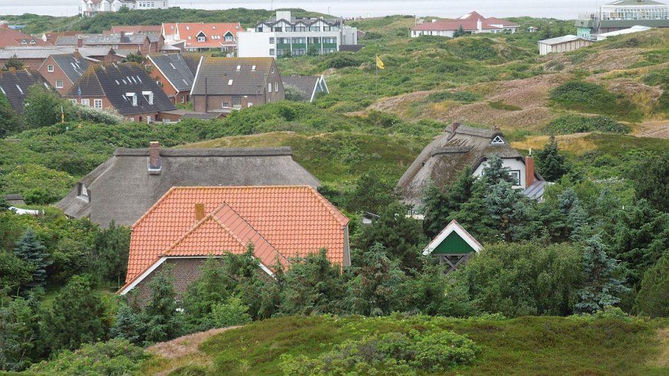 Pohled na ostrov Langeoog