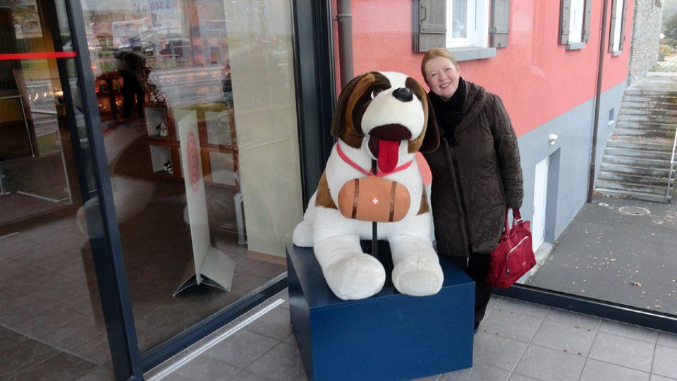 Zita Senková jde navštívit Muzeum bernardýnů ve švýcarském městě Martigny
