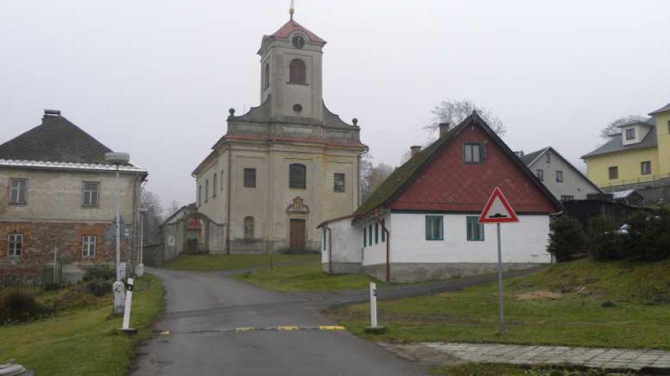 Čenkovice - kostel sv. Vavřince