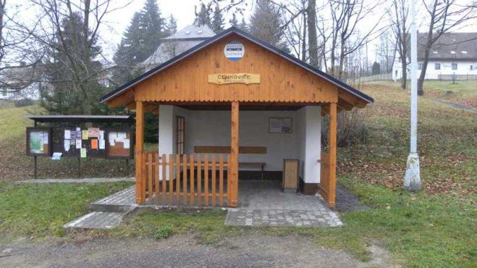 Čenkovice - autobusová zastávka