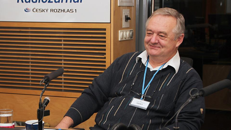 Zdeněk Havlas během rozhovoru