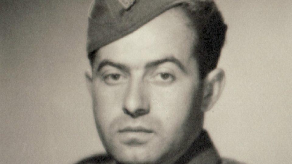 Karel Vaš na frontě na Slovensku 1944