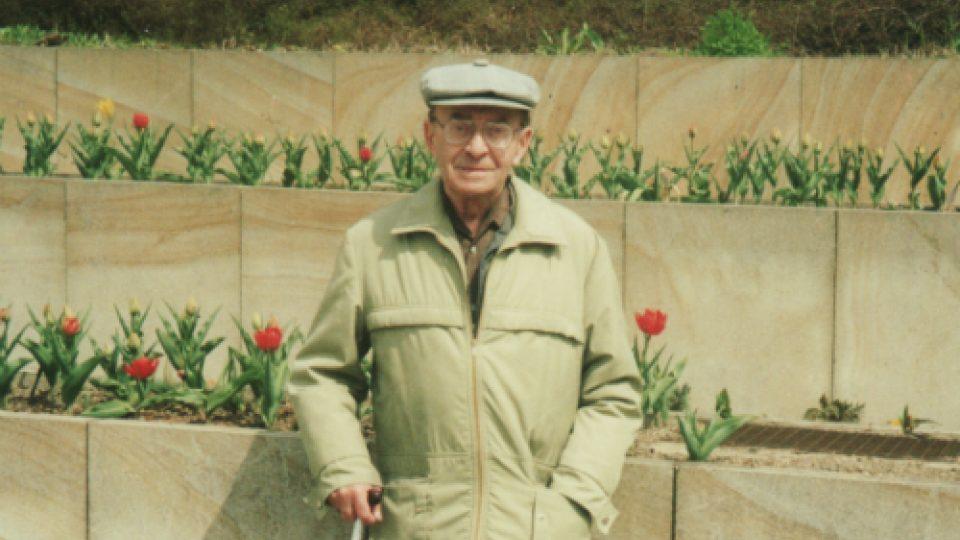 Karel Vaš v Mariánských lázních 2002