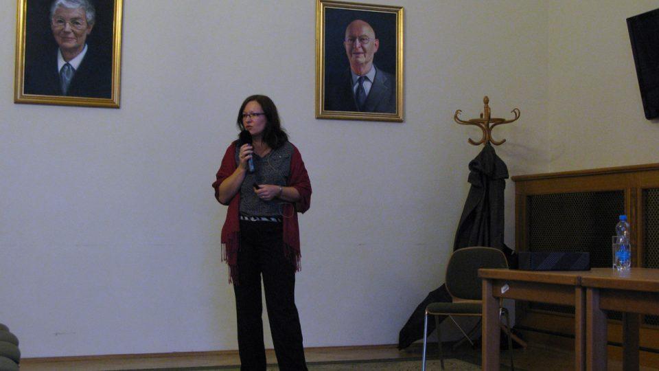 Z prezentace JUDr. Hany Müllerové, Ph.D. během Týdne ve vědě a technice AV ČR