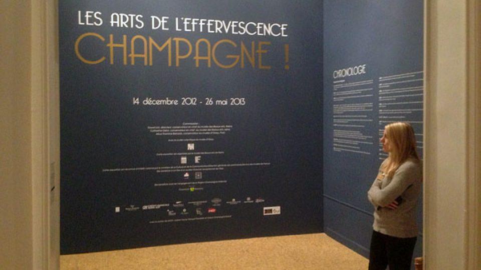 Návštěvníci výstavy o šampaňském se musejí obejít bez ochutnávek