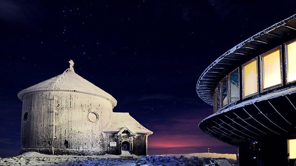 Silvestr na Sněžce - tento pohled sttál za to!