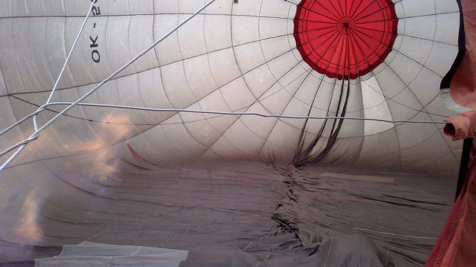 Balon se chystá odstartovat