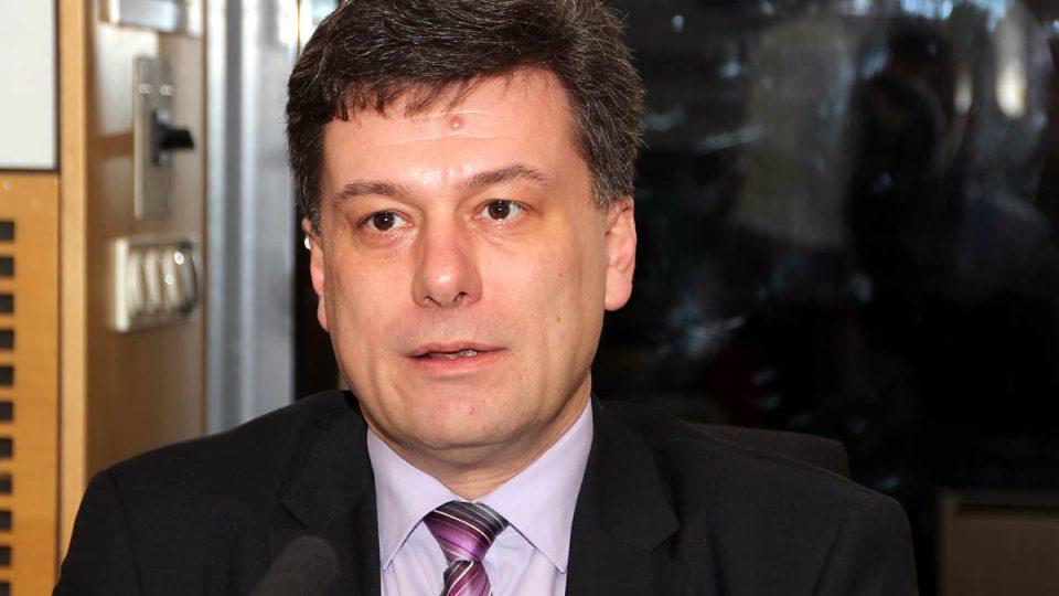 Ministr spravedlnosti Pavel Blažek odpovídal na otázky ve Dvaceti minutách Radiožurnálu