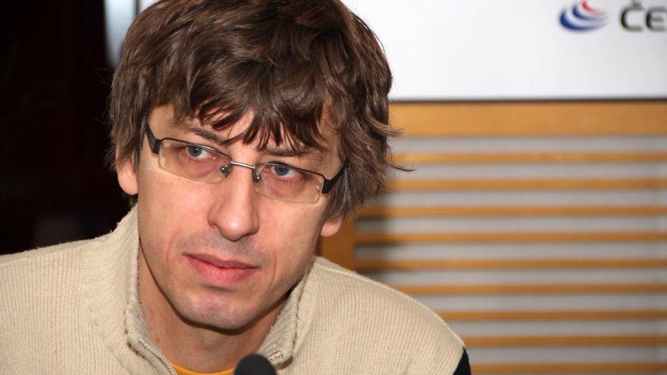 Historik Petr Blažek byl hostem Radiožurnálu