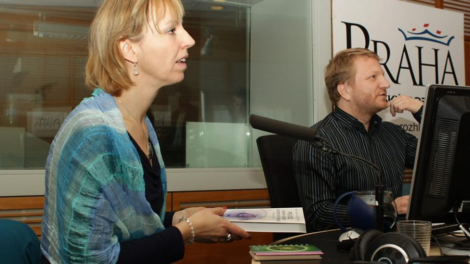 Anna Crkalová a Norbert Riethof