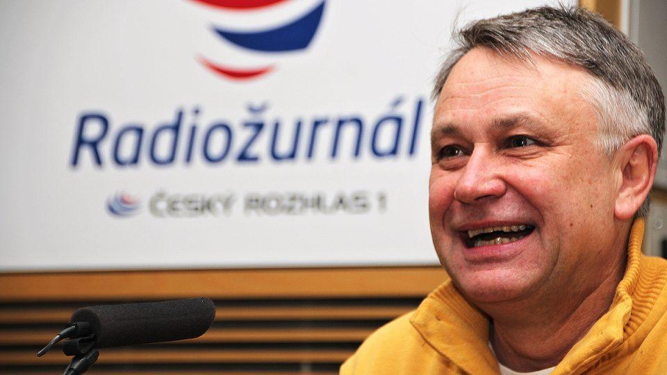 Antonín Procházka během rozhovoru