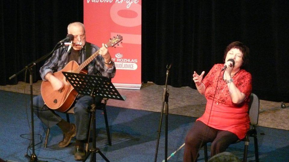 Koncert Jitky Vrbové v Českém rozhlase České Budějovice