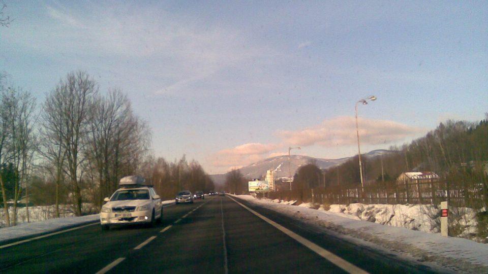 Cesta do Pece pod Sněžkou