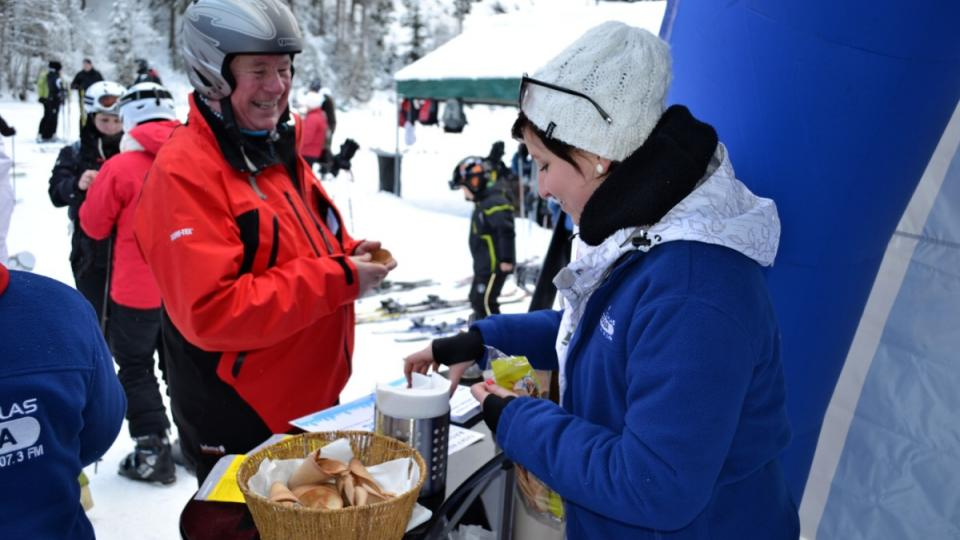 Expedice Yetti 2013 - 8. února Ski areál Bílá