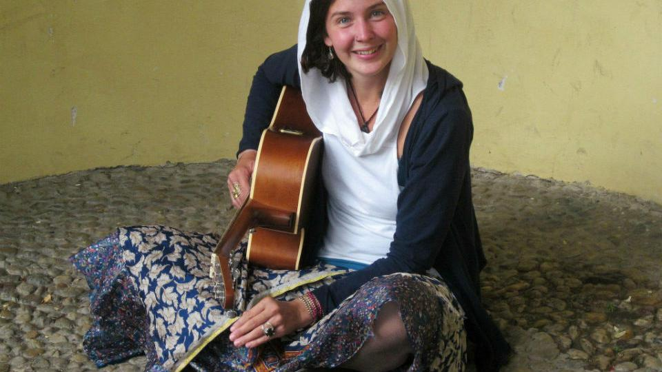 Písničkářka Iamme Candlewick (Andrea Knotková)