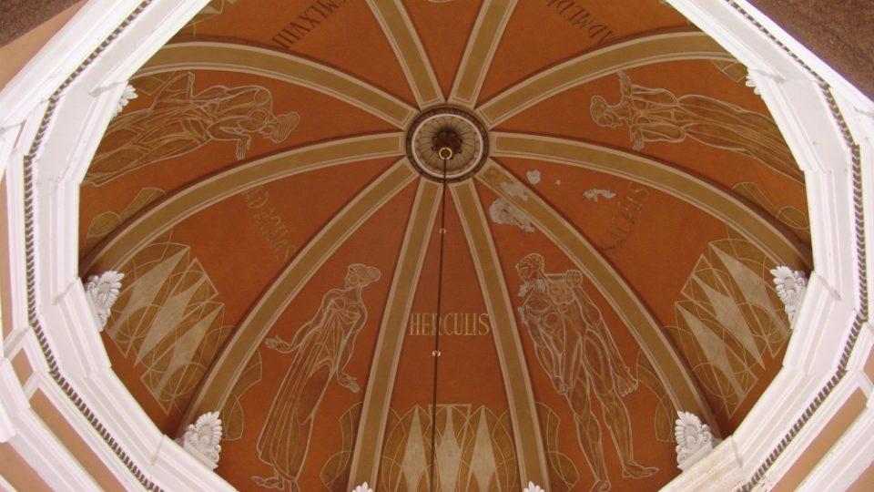 Nádražní kupole (Herkulovy lázně)