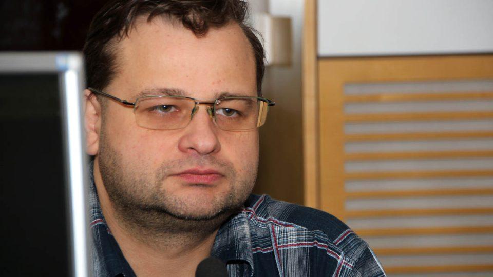 Astronom Jakub Rozehnal byl pátečním hostem Radiožurnálu