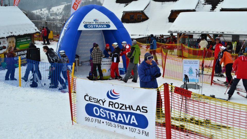 Expedice Yetti - 15. února Ski areál Mosty u Jablunkova