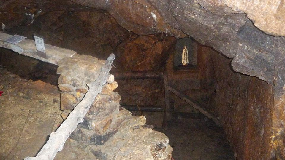 Prohlídková štola Lehnschafter v Mikulově u Teplic na severu Čech