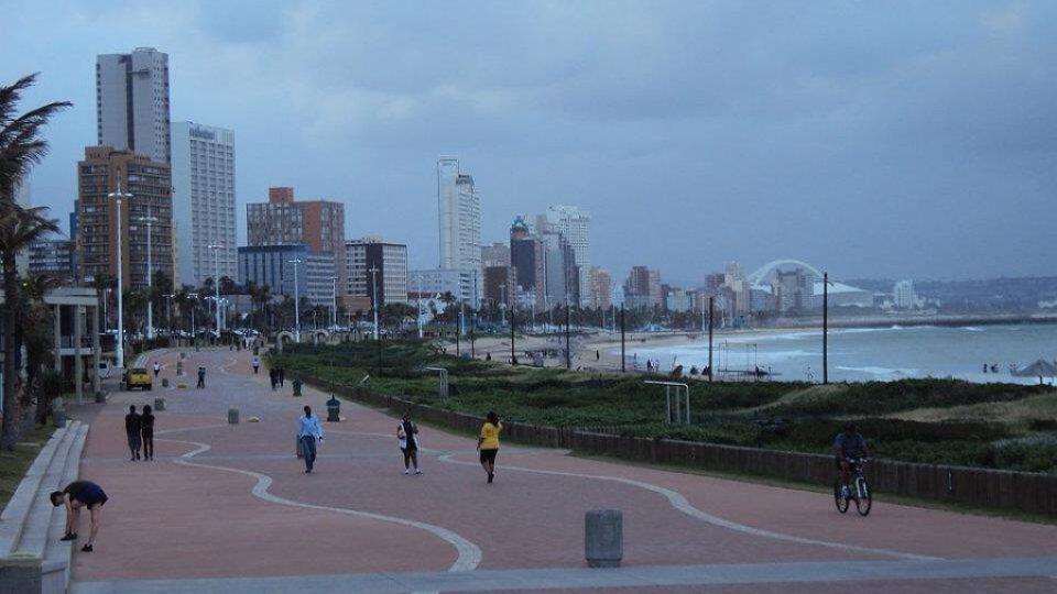 Promenáda v Durbanu u Indického oceánu