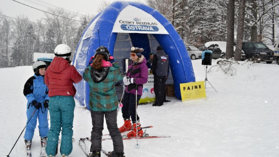Expedice Yetti - 22. února Ski areál Malenovice