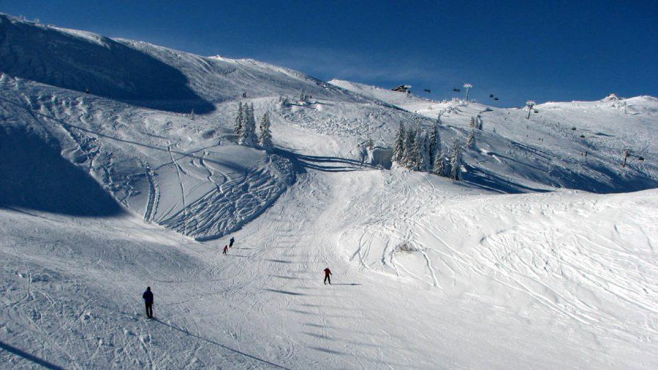 V lyžařském centru Jahorina najdete 25 kilometrů dobře širokých sjezdovek
