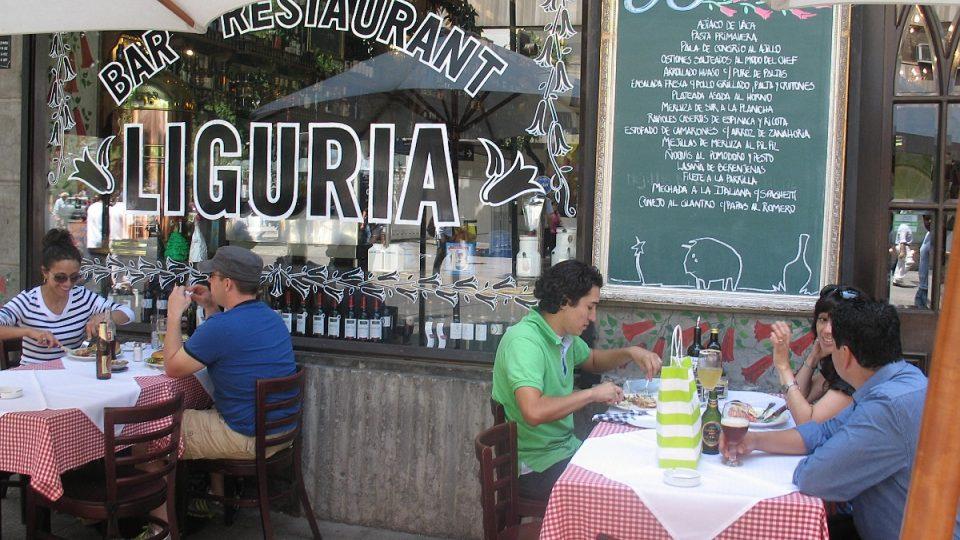 České pivo proniklo i do populární santiagské restaurace Liguria
