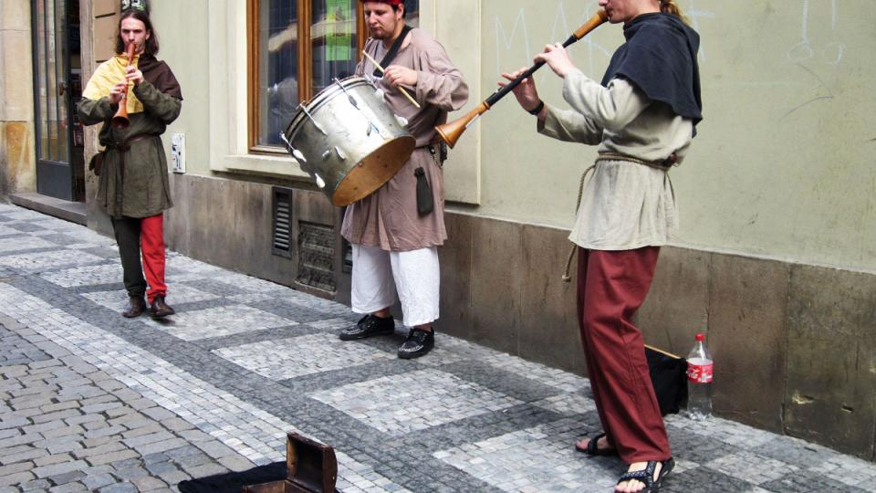 Busking, pouliční muzikanti