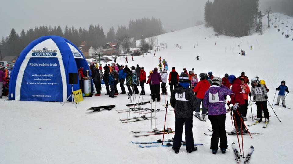 Expedice Yetti 2013 - 1. března Ski areál Rališka
