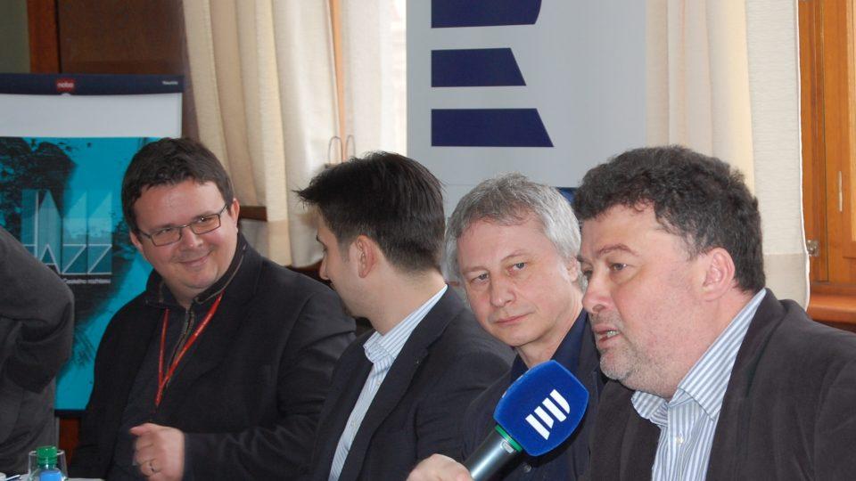 Tisková konference Český rozhlas Plus