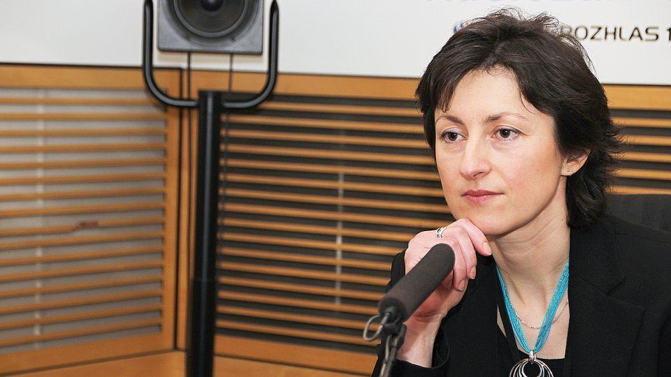 Lenka Eckertová hostem Radiožurnálu