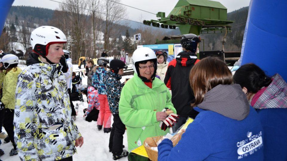 Expedice Yetti 2013 - 7. března Ski areál Karlov