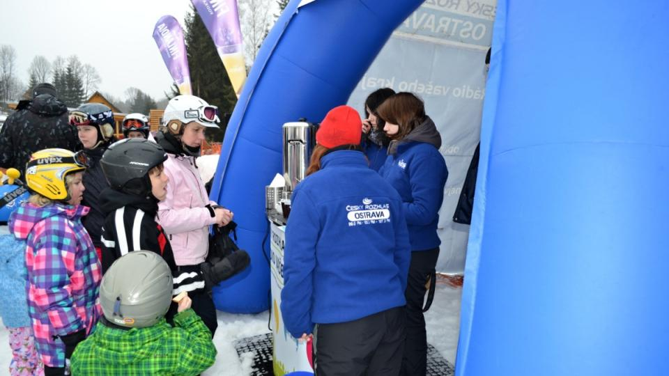 Expedice Yetti 2013 - 9. března Ski areál Kopřivná