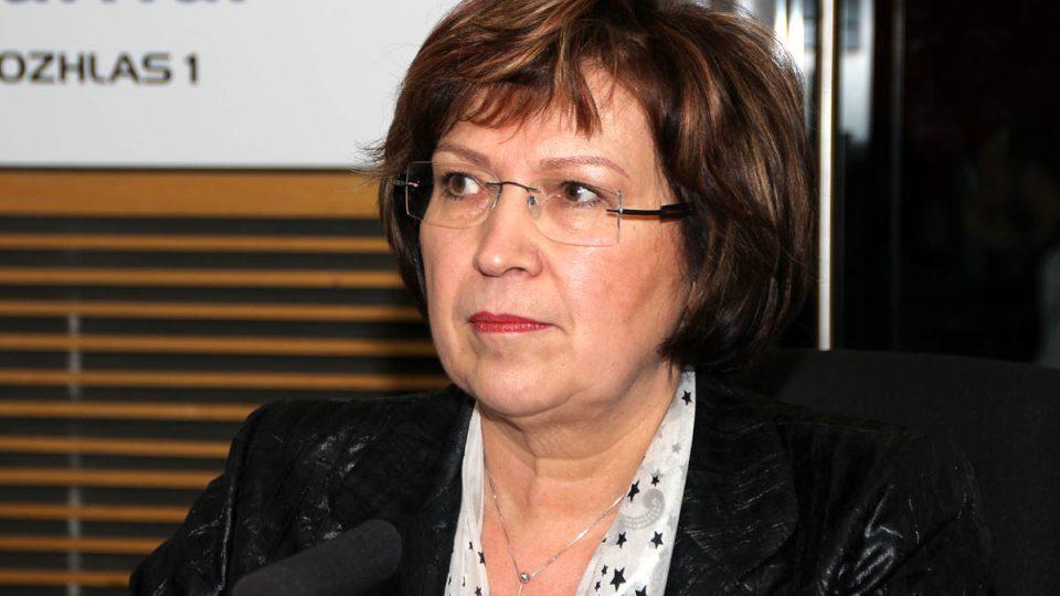 Ministryně práce a sociálních věcí Ludmila Müllerová se zamyslela nad budoucností sKaret