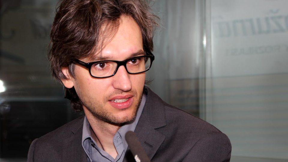 Adam Gebrian zmínil potřebu investic do smysluplných projektů