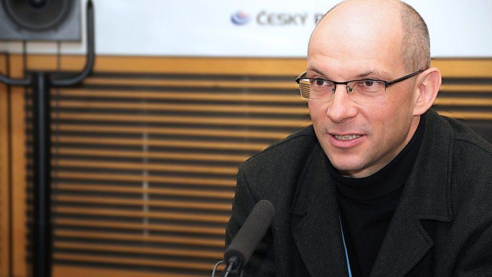 Jaromír Šimša během rozhovoru