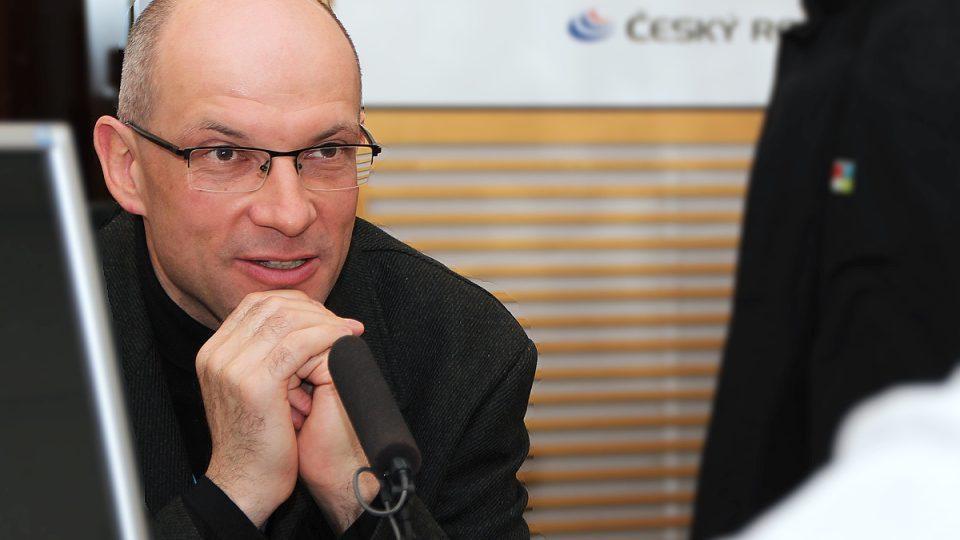 Jaromír Šimša hostem Radiožurnálu