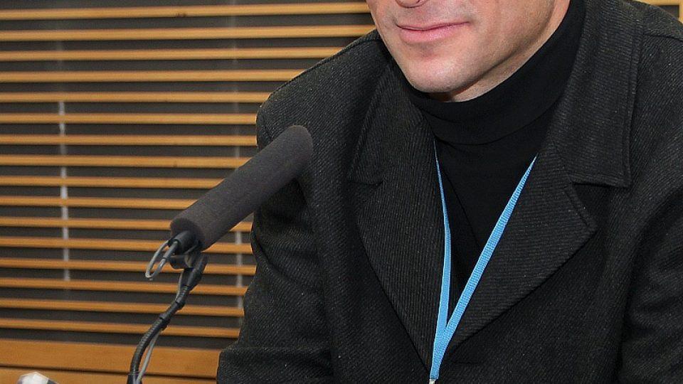 Jaromír Šimša ve studiu