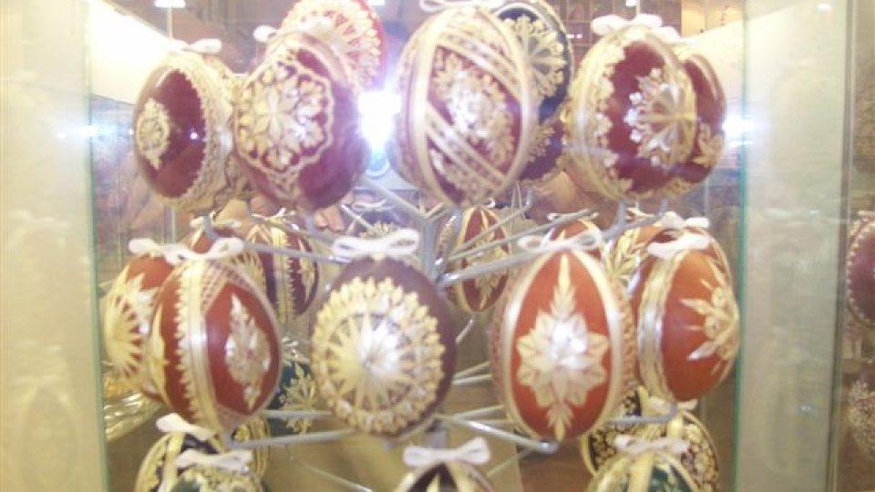 Galerie kraslic Libotenice - kraslice slámové