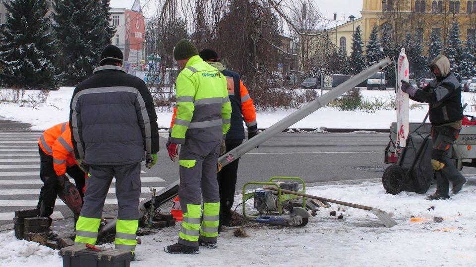 Autobusová dopravní nehoda v Českých Budějovicích