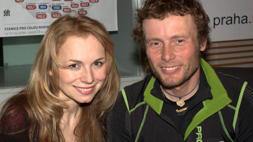 Martina Kociánová a Jan Trávníček