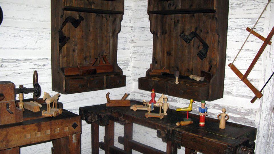 Velikonoce v Betlému Hlinsko připomínají také řemesla, kterými se lidé v kraji živili
