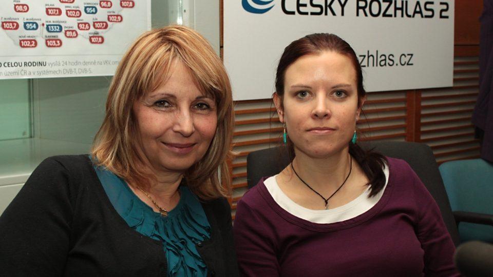 Stanislava Lekešová a Jana Neboráková