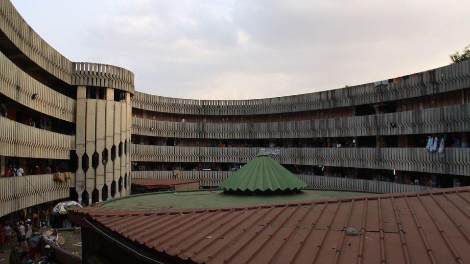 Centrální trh v Yaoundé