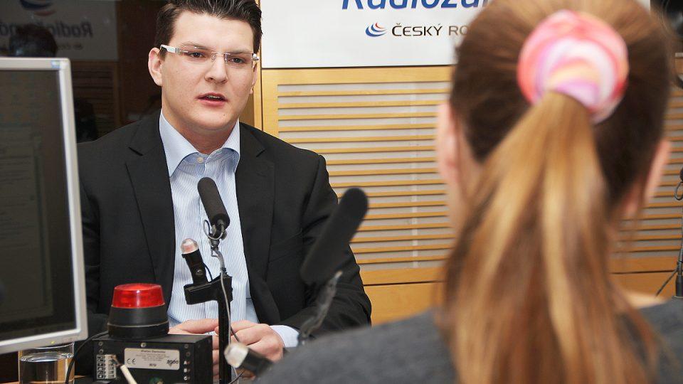 Ondřej Vrkoč odpovídá na dotazy Lucie Výborné