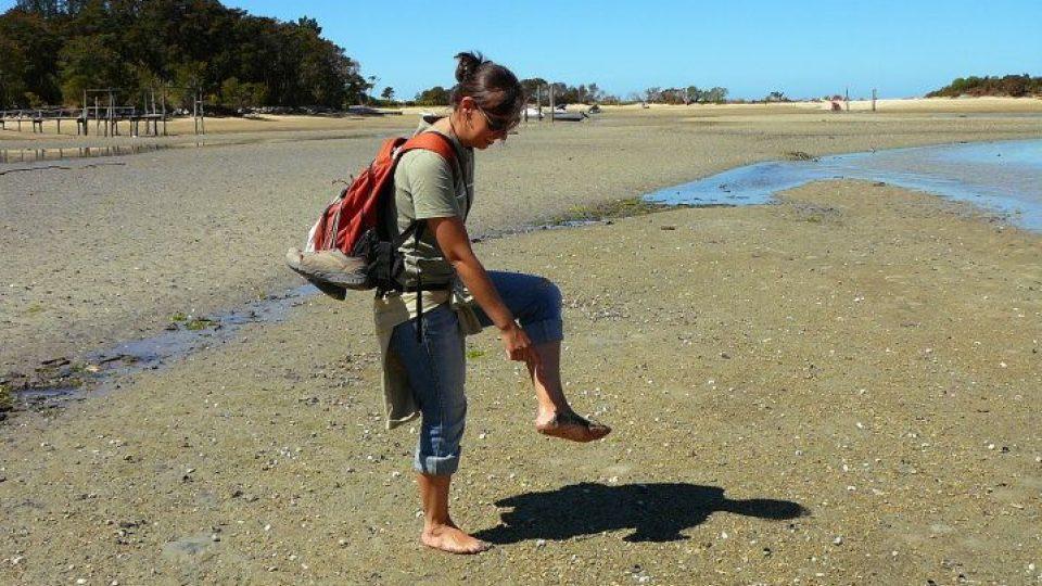 Monika Babická na Novém Zélandu - Abel Tasman
