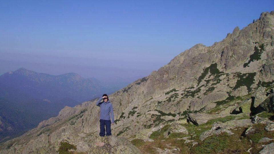 Klára Škodová navštívila Korsiku