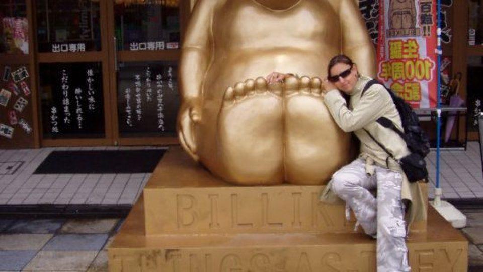 Monika Babická v Japonsku - Osaka