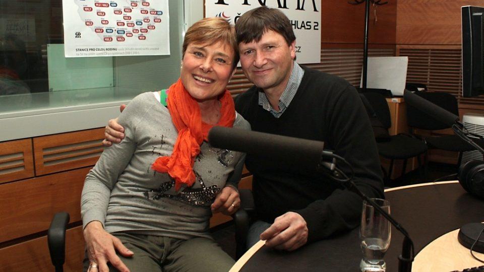 Marie Retková a Jan Hrušínský