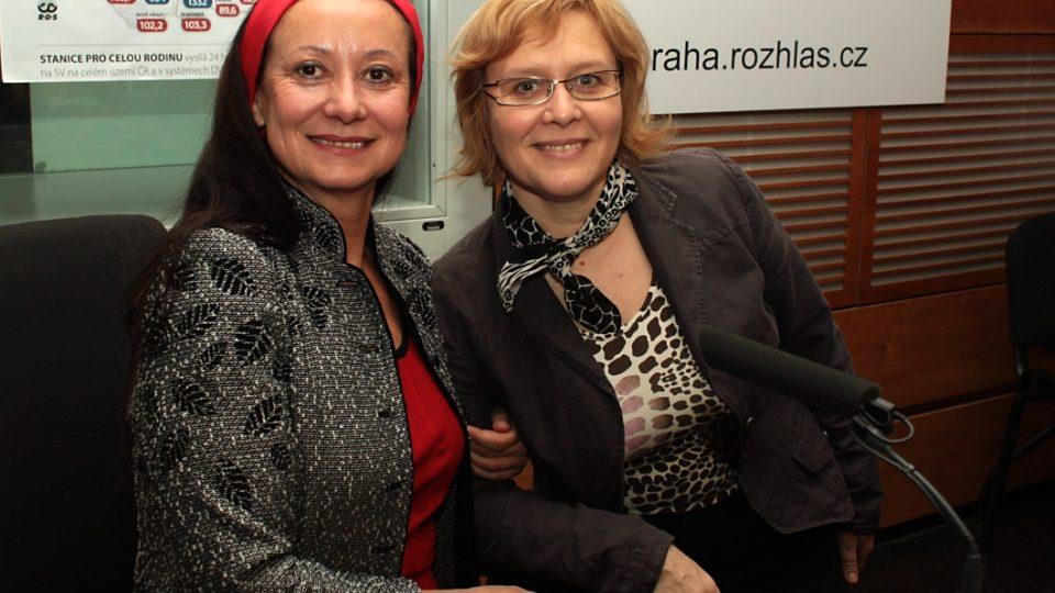 Renata Sabongui a Daniela Brůhová